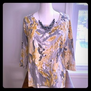 Style& Co. 3/4 Sleeve Top